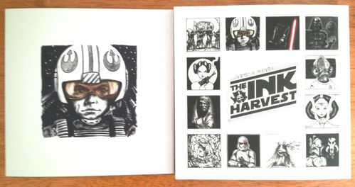 24.- THE INK HARVEST + Trajeta Postal Luke Skywalker de regalo
