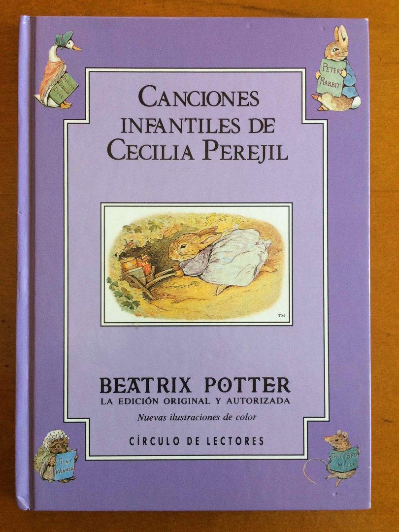 Beatrix Potter. Libro 23. Canciones Infantiles Cecilia Perejil ...