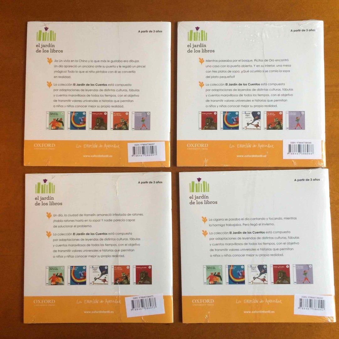 Pack 4 Libros Coleccion Oxford El Jardin De Los Suenos Con Cd Y