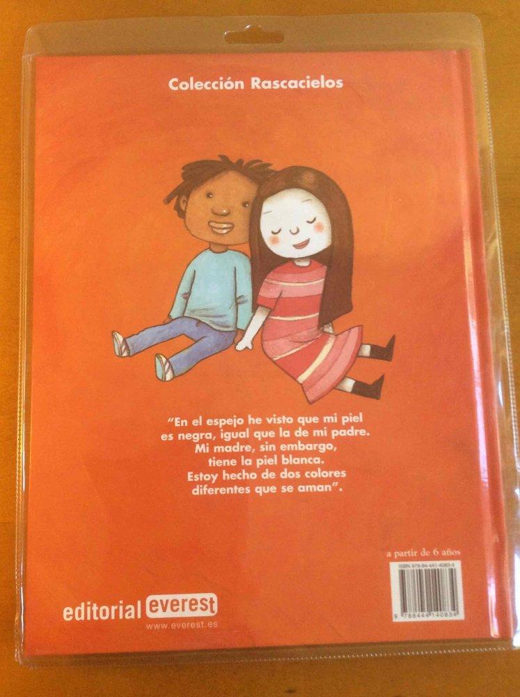 Colores que se aman (libro + CD). Sobre diversidad. DESCATALOGADO