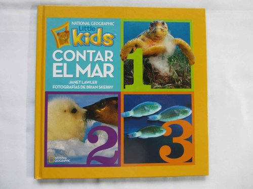 Contar el mar. National Geographic Little Kids DESCATALOGADO