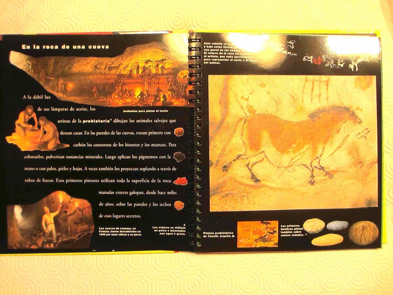 DESCATALOGADO · La invención de la pintura. MUNDO MARAVILLOSO SM.  BIBLIOTECA INTERACTIVA.
