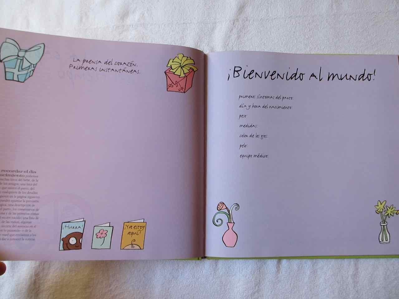 Mi primer libro del bebé : un divertido álbum de recuerdos