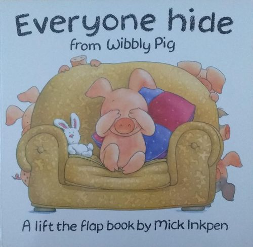 Everyone Hide from Wibbly Pig DESCATALOGADO