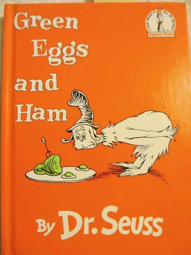 Green Eggs and Ham by Dr. Seuss (Beginner Books)  (INGLÉS)