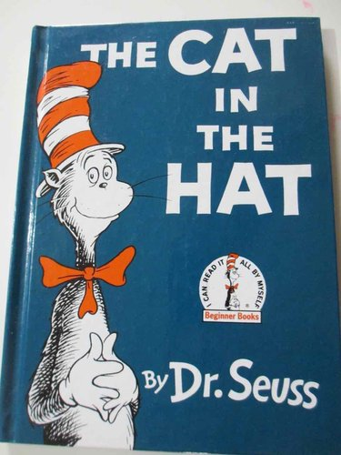 The Cat in the Hat by Dr. Seuss (INGLÉS)