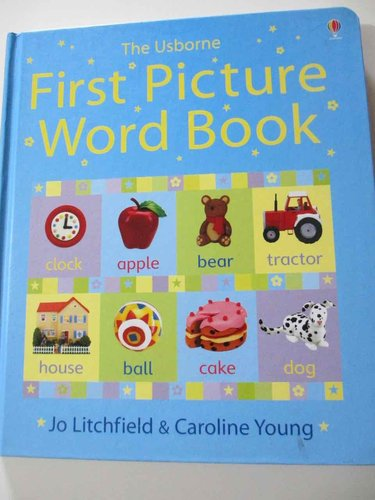 The Usborne First Picture Word Book  (INGLÉS) DESCATALOGADO