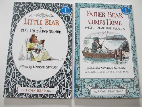 Pack 2 joyas INGLÉS Else Holmelund Minarik + Maurice Sendak: Little Bear + Father Bear Comes Home