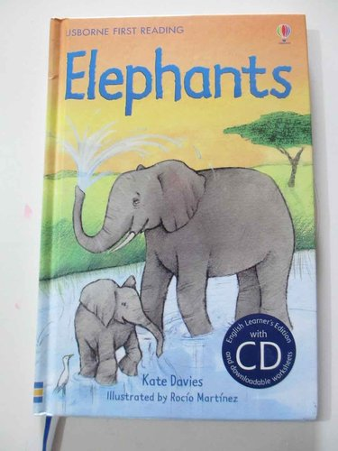 Elephants  ( First reading, level four + CD - Usborne) (INGLÉS)