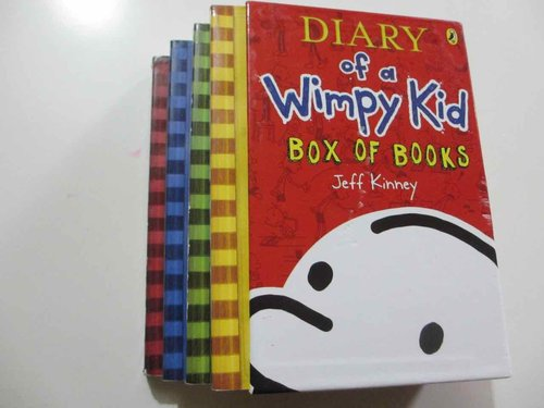 Diary of a Wimpy Kid  (Box 4 Books). INGLÉS (4 LIBROS DIARIO GREG).  Ideal practicar lectura