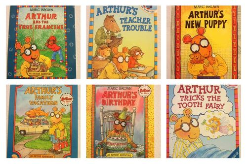 "Pack 6 colección ""An Arthur Adventure"" de Marc Brown (INGLÉS)"