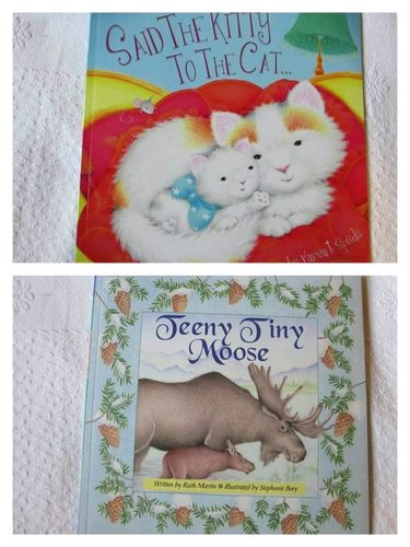 Pack 2 INGLÉS: Said the Kitty to the cat + Teeny Tiny Moose